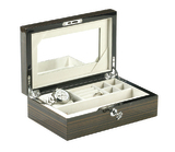Oxford Collection Lockable Jewellery Box
