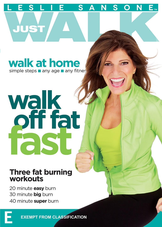 Leslie Sansone Walk Off Fat Fast on DVD image