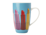 Maxwell & Williams - Christopher Vine Pout Coupe Mug - Blue (420ml)