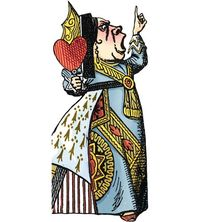 Unemployed Philosophers Guild - Queen Of Hearts Card