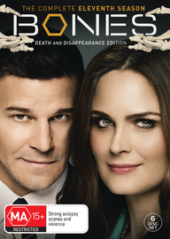 Bones - The Complete Eleventh Season on DVD