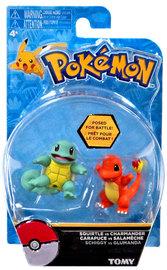 Pokémon: Action Pose Squirtle & Charmander - Figure 2-Pack