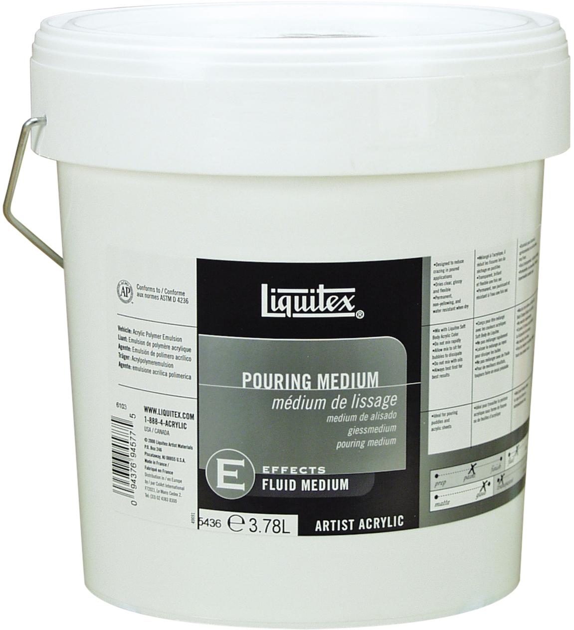 Liquitex: Pouring Medium (3.78L) image