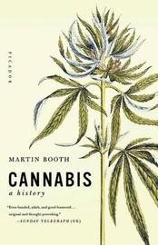 Cannabis by Martin Booth