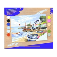 Paint by Numbers - Fishing Village image