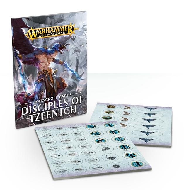 Warhammer Age of Sigmar: Warscrolls - Disciples of Tzeentch