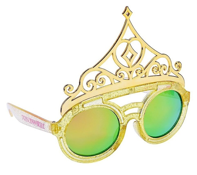 Sunstaches: Lil' Characters Sunglasses - Belle Crown