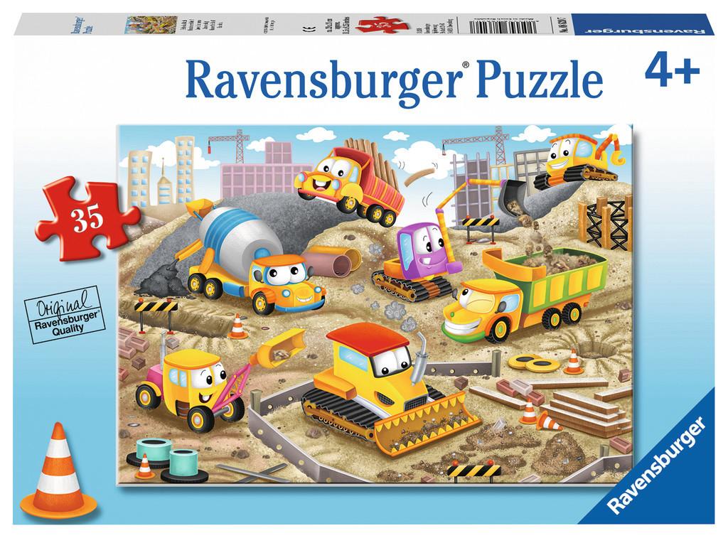 Ravensburger : Raise the Roof! Puzzle 35pc image