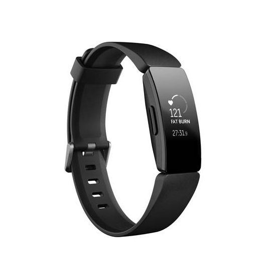 Fitbit Inspire HR Heart Rate & Fitness Tracker - Black
