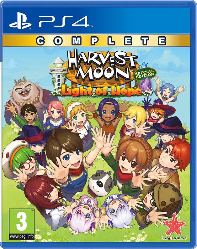 ​Harvest Moon: Light of Hope Complete Special Edition for PS4
