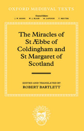The Miracles of St AEbba of Coldingham and St Margaret of Scotland image