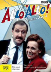 'Allo 'Allo! - Series 3-4 on DVD