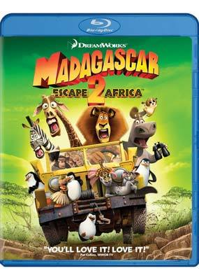 Madagascar: Escape 2 Africa on Blu-ray