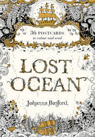 Lost Ocean Postcard (36 Postcards) by Johanna Basford