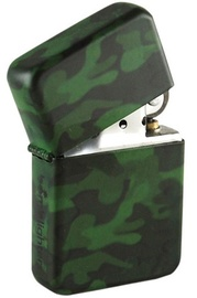 Camo Spray Windproof Lighter - Green