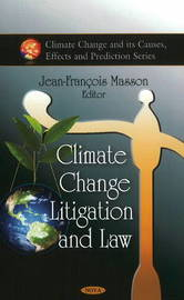 Climate Change Litigation and Law image