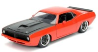 Jada: 1/24 1973 Plymouth Barracuda - Diecast Model