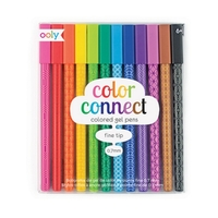 Color Connect Colored Gel Pens - 12 Pack