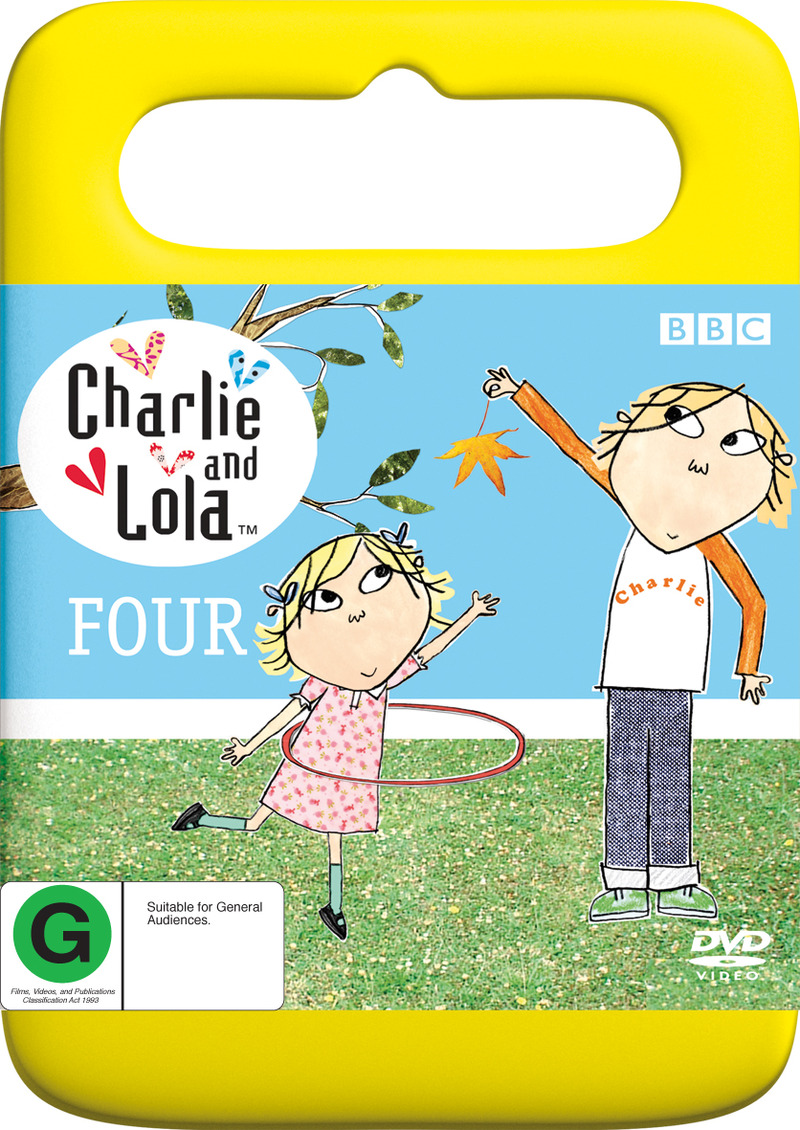 Charlie and Lola - Four (Handle Case) on DVD image