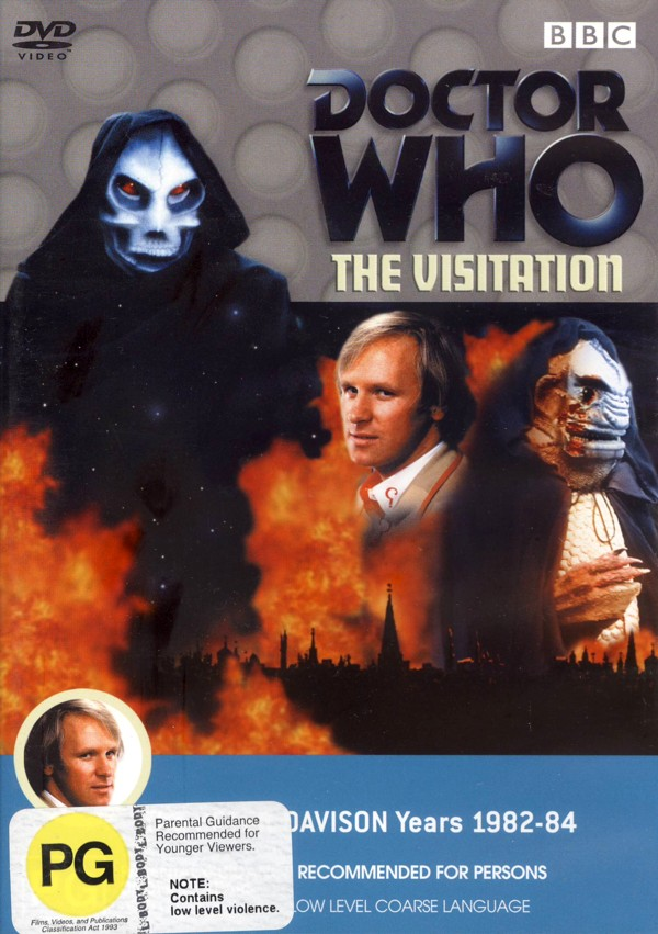 Doctor Who (1982) - The Visitation on DVD image