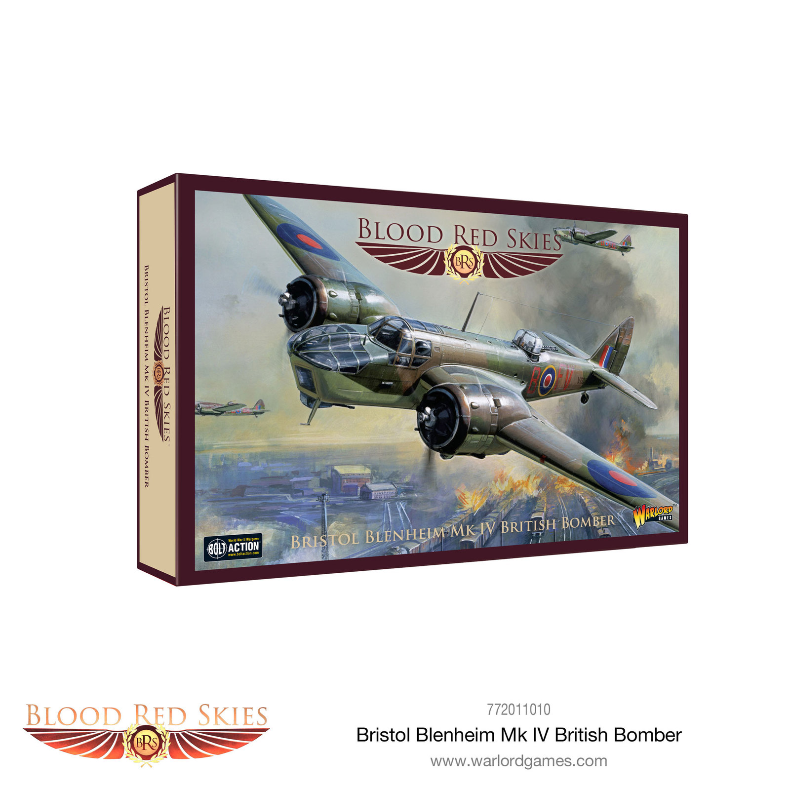 Blood Red Skies: Bristol Blenheim Mk IV British Bomber image