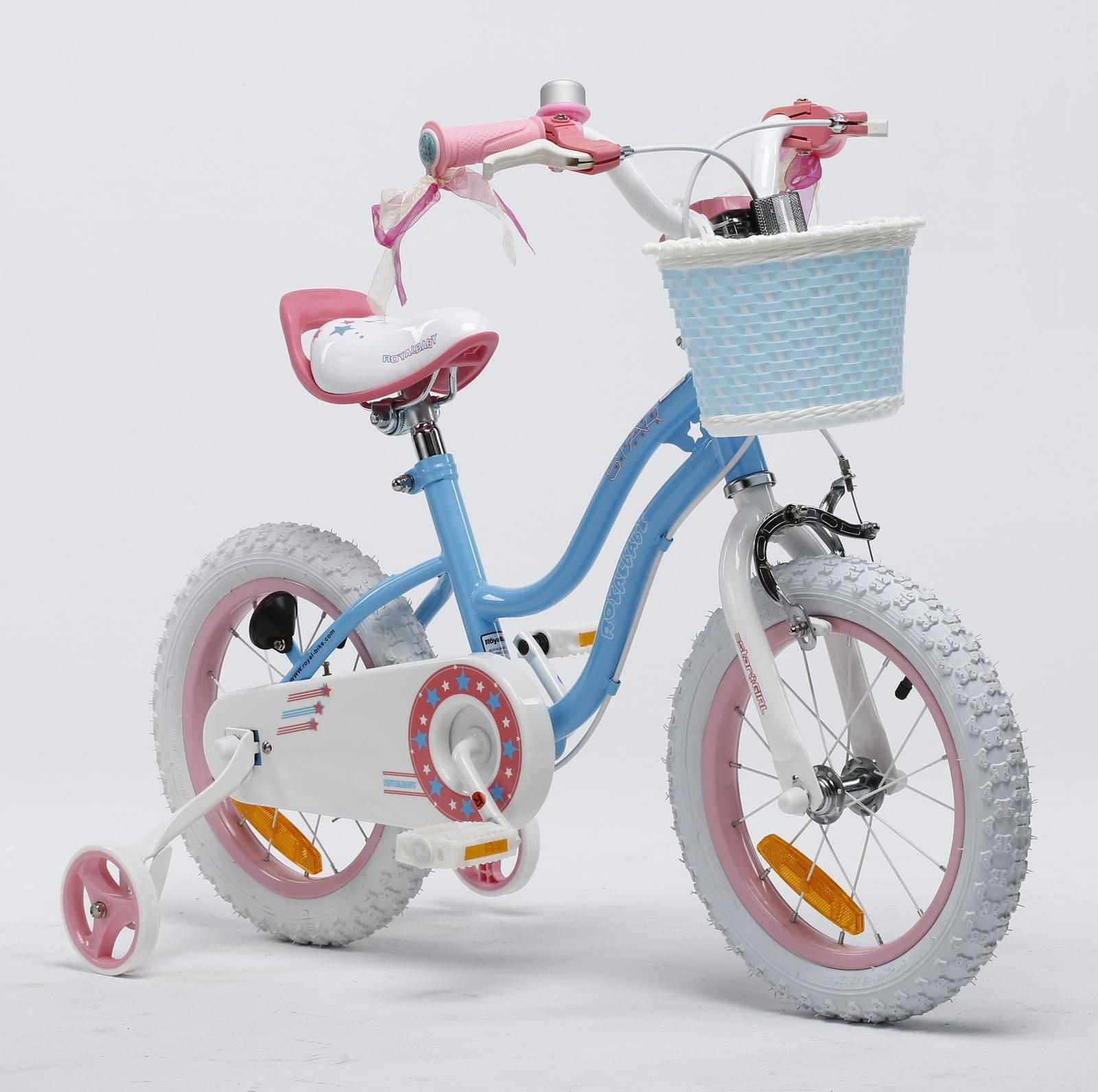 "RoyalBaby: Star Girl G-1 - 12"" Bike (Blue) image"