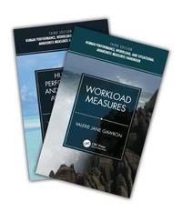 Human Performance, Workload, and Situational Awareness Measures Handbook, Third Edition - 2-Volume Set by Valerie Jane Gawron
