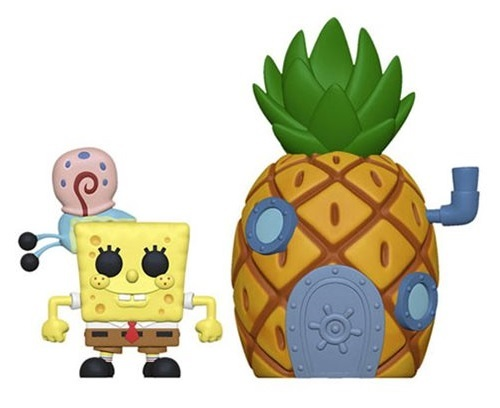 SpongeBob & Pineapple - Pop! Town Diorama Set