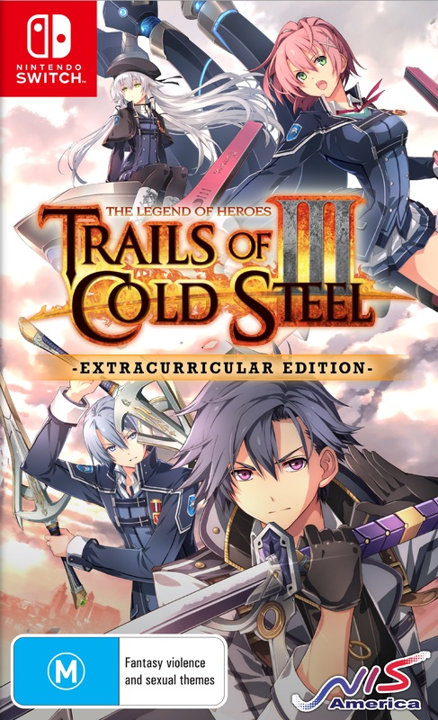 The Legend of Heroes: Trails of Cold Steel III Extracurricular Edition for Switch