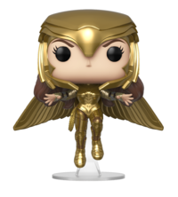 Wonder Woman: 1984 - Wonder Woman Gold (Flying Pose) Pop! Vinyl Figure