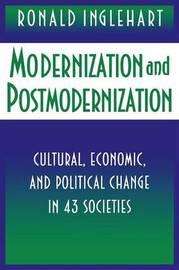 Modernization and Postmodernization by Ronald Inglehart image