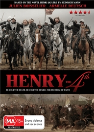Henry the 4th on DVD