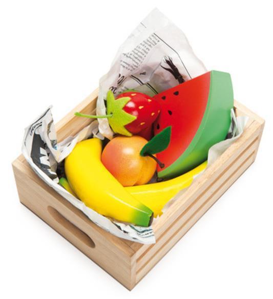 Le Toy Van: Honeybee - Smoothie Fruits Wooden Crate Set