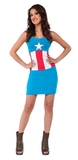 Captain America Tank Dress (Medium)