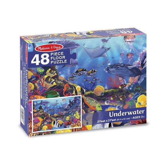 Melissa & Doug: Underwater Floor Puzzle image