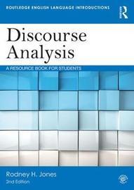Discourse Analysis by Rodney H. Jones