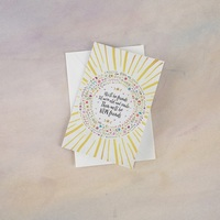 Natural Life: Greeting Card - We'll Be Friends