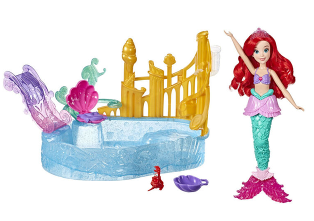 Disney: Ariel and Sparkling Lagoon - Doll Playset