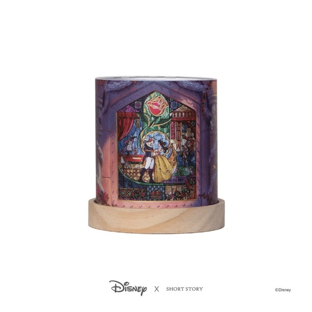 Disney: Mini Glass Lantern - Beauty & the Beast