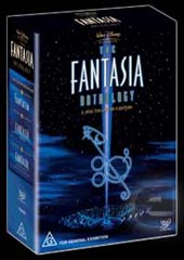 Fantasia Anthology Box Set (3 Disc) on DVD
