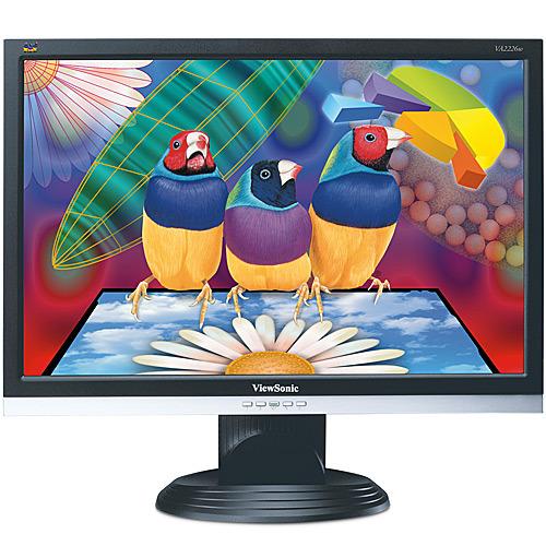 "Viewsonic VA2226W 22"" Wide LCD 1680x1050 5ms Black/Silver"