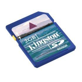 Kingston 2GB SecureDigital (SD) Memory Card