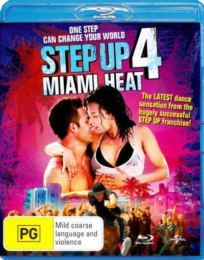 Step Up 4: Miami Heat on Blu-ray
