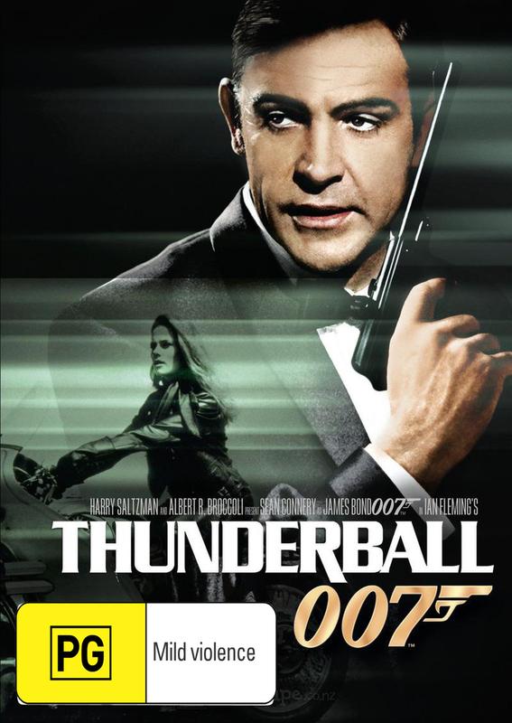 Thunderball (2012 Version) on DVD