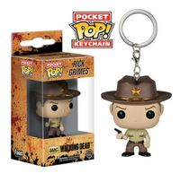 The Walking Dead Rick Grimes Pop! Keychain