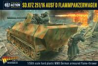 German Army Sd.Kfz 251/16 Ausf D Flammenpanzerwagen
