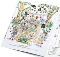 Fancy Nancy: A Flutter of Butterflies Reusable Sticker Book by Jane O'Connor image