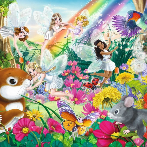 Ravensburger : Beautiful Fairy Forest Puzzle 150pc