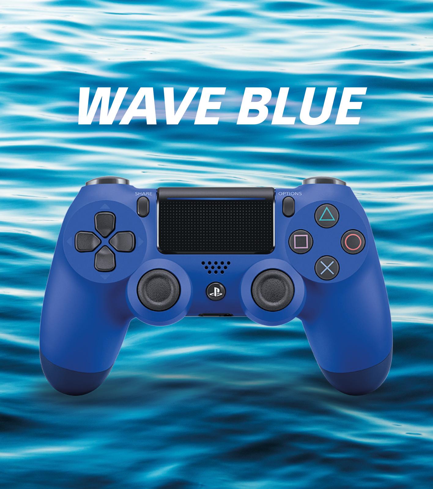 PlayStation 4 DualShock 4 v2 Wireless Controller - Wave Blue for PS4 image