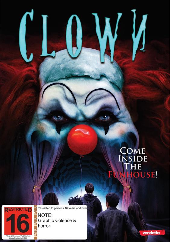 Clown on DVD